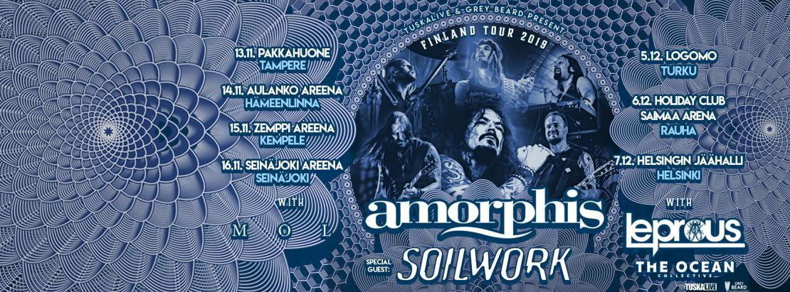 Amorphis Finland Tour 2019