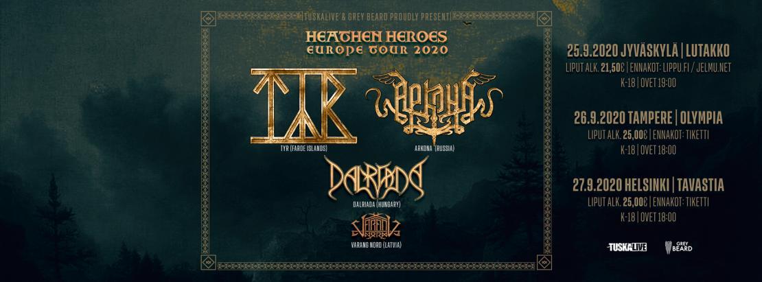 Heathen Heroes 2020