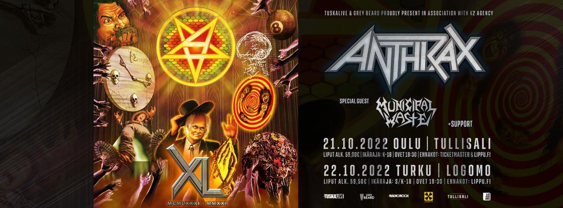 Anthrax 2022