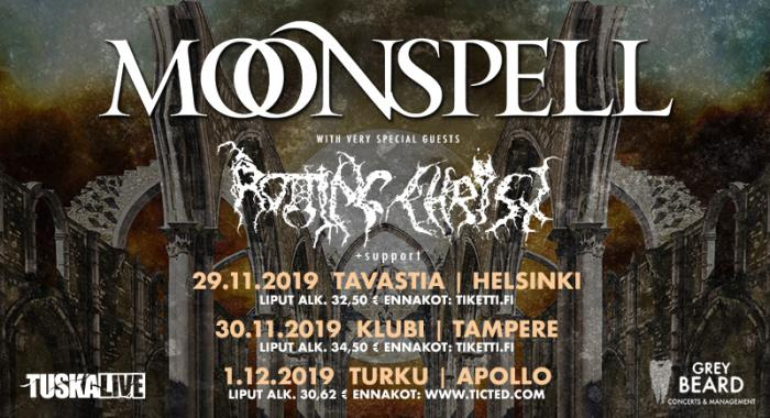 Moonspell 2019