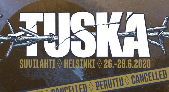 Tuska 2020 peruttu cancelled