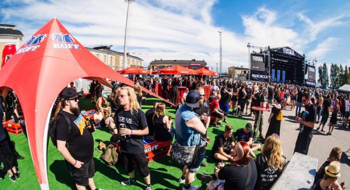 festival area by entropias