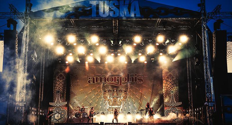 Amorphis by Jesse Kämäräinen