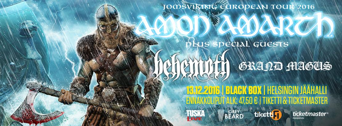 Amon Amarth supports