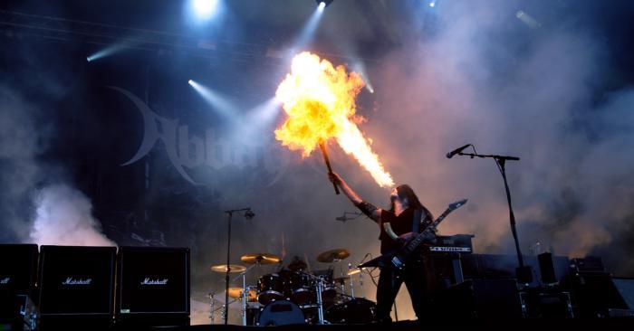 Abbath at Tuska Open Air Metal Festival 2015