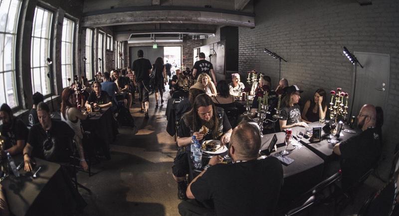 Black Dining by Jesse Kämäräinen